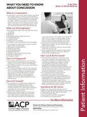 concussion handout